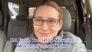 Retail Arbitrage Haul from Tuesday Morning, Marshall's and Kohl's for Amazon FBA