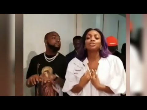 Davido Attends Church Service With His Sister And B-red