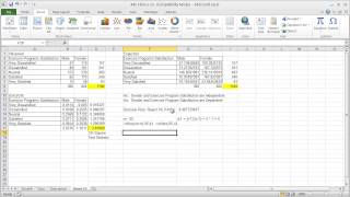 Unit 5A: Excel 2010 Business Analysis - Contigency Tables & Independence Analysis