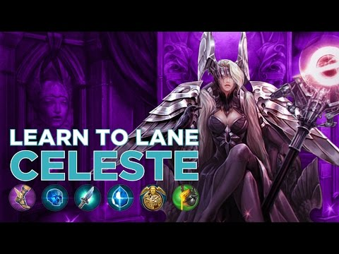 Vainglory - Learn To Lane: Celeste Gameplay (Update 1.18)
