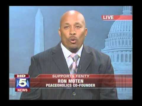 Ronald Moten Defeats Marion Barry In debate on Fox 5 during Heated 2010 Mayors Race