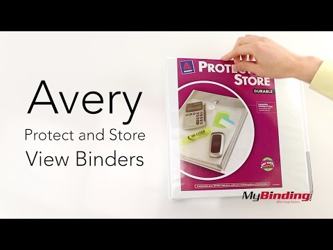 Avery Protect And Store View Binders