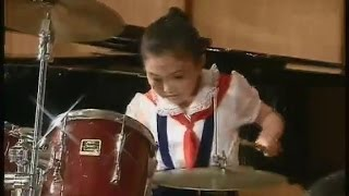 [Drums] Kim Chu Mi (9y.o.) {DPRK Music}