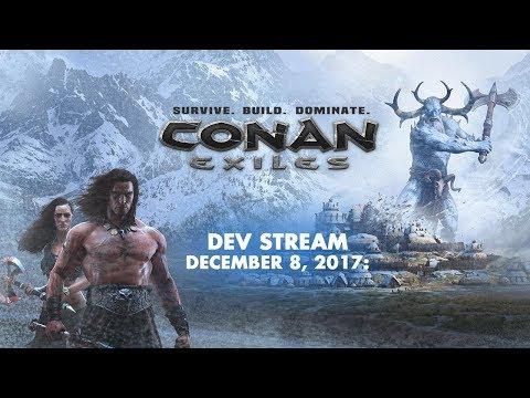 Conan Exiles dev stream - Update 32 spotlight