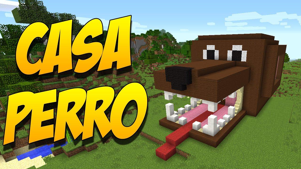 Como hacer una casa perro construccion en minecraft for Hacer casas