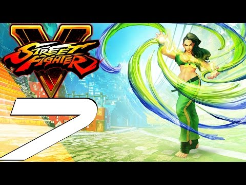 Street Fighter 5 - Gameplay Walkthrough Part 7 - Rashid & Laura Story (Full Game)