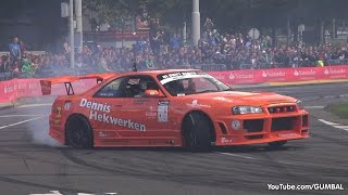 BEST of Drifting SOUNDS! Nissan Skyline R33 GTR, BMW E39 M5 & More!