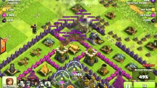 Clash of clans, worlds most clutch raid ever!!!!
