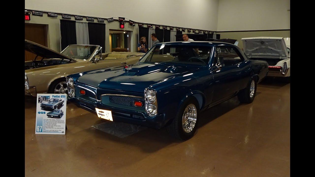 1967 Pontiac GTO Hardtop Custom Modified in Teal Blue Metallic on My ...