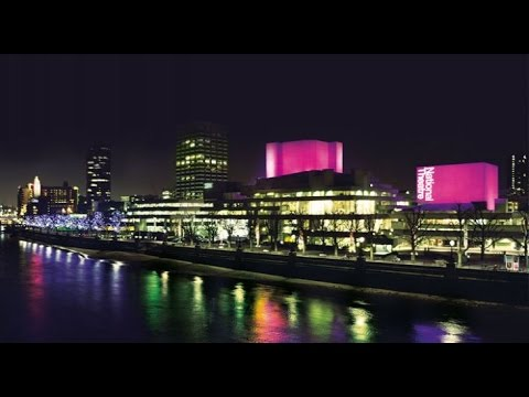 [10 Hours] London Thames & National Theatre at Night [1080pHD] SlowTV