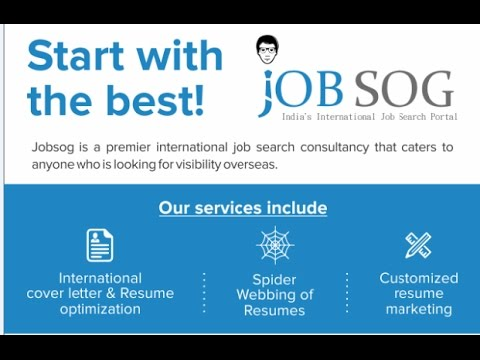 How to get a job overseas/international/abroad - YouTube
