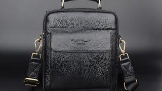 Мужская кожаная сумка // Men's leather bag(, 2016-08-09T12:40:02.000Z)