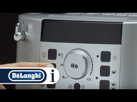 How to Set the Water Temperature of Your De'Longhi Magnifica S ECAM 22.110 Coffee Machine