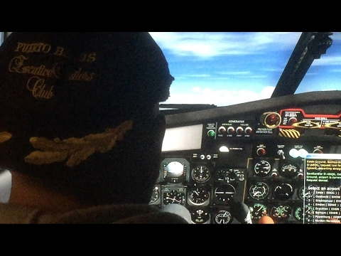 Captain Puck  flying 👮🏼 in Suriname - smzo- smjp Deliver planes (FSX) Home Sim