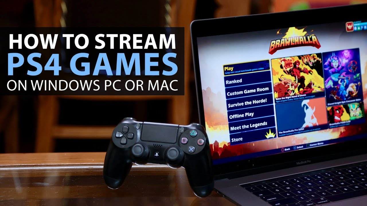 play video games on your mac