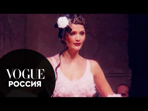 Любимые супермодели Карла Лагерфельда на показе Chanel в 1993 году