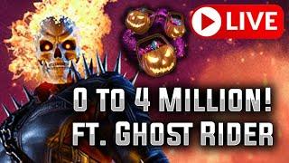 0 to 4 Million! - KILLMONGER BLITZ (ft. Ghost Rider) - MARVEL Strike Force - MSF