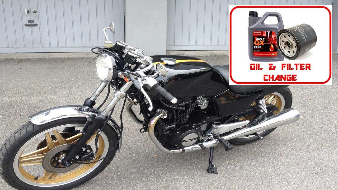 honda cb400n oil filter change youtube rh youtube com Honda CB450 Honda CB 125