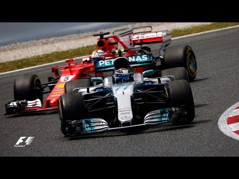 Vettel's Dummy Pass On Bottas | F1 Best Overtakes of 2017