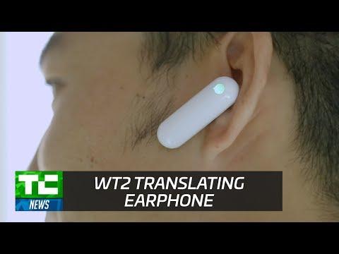 WT2 Real-Time Translation Earpiece