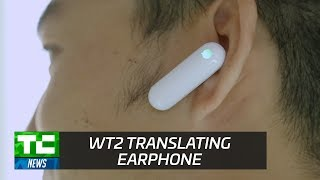 WT2 Real-Time Translation Earpiece