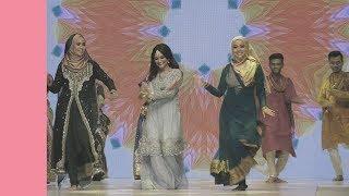 Teropong aksi comel Mira Filzah & Ayda Jebat menari Bollywood