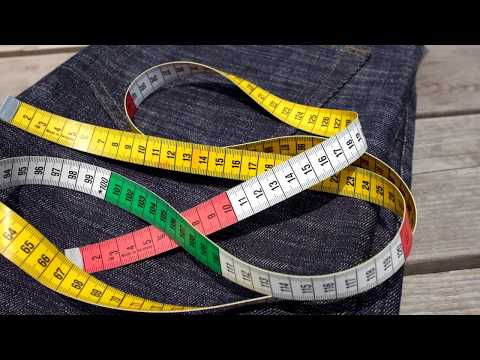 How to measure your Jeans