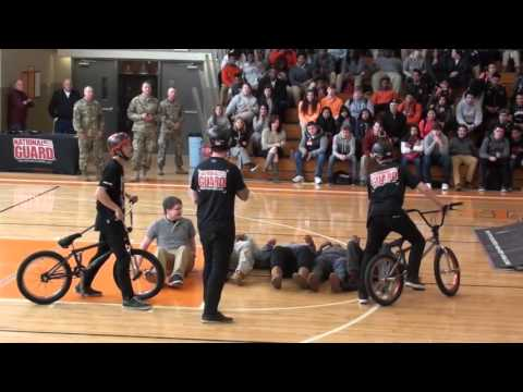 National Guard BMX show