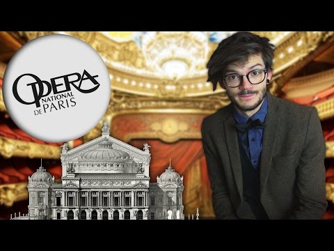 LE FANTÔME DE L'OPÉRA ! Opéra Garnier. CuriosiTea. FR/EN