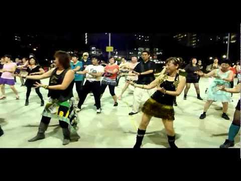Yishun Folk Dance-Laoshiwuhui 160612-Bollywood Dance.mpg