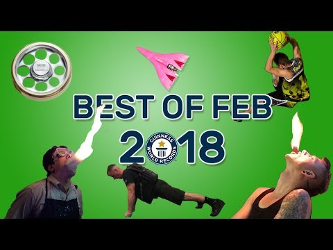 Best of February 2018 - Guinness World Records
