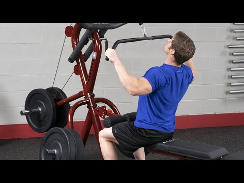 Corner Leverage Gym Package #GLGS100P4 -  Exercises (BodySolid.com)