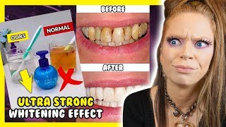 The TRUTH about 'INSTANT Whitening TOOTHPASTE'