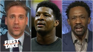 First Take reacts to Jameis Winston calling himself a 'historically great QB'