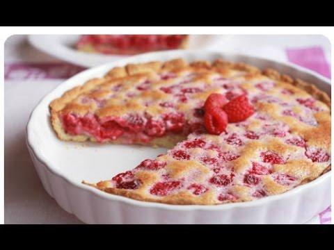 Рецепт открытого пирога с МАЛИНОЙ