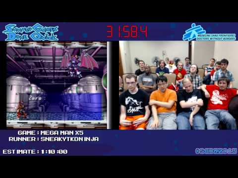 Mega Man X5 in 0:58:11 [GCN] by sneakytdkninja #SGDQ 2013