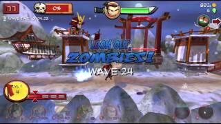 Samurai vs Zombies Defense Wave 24