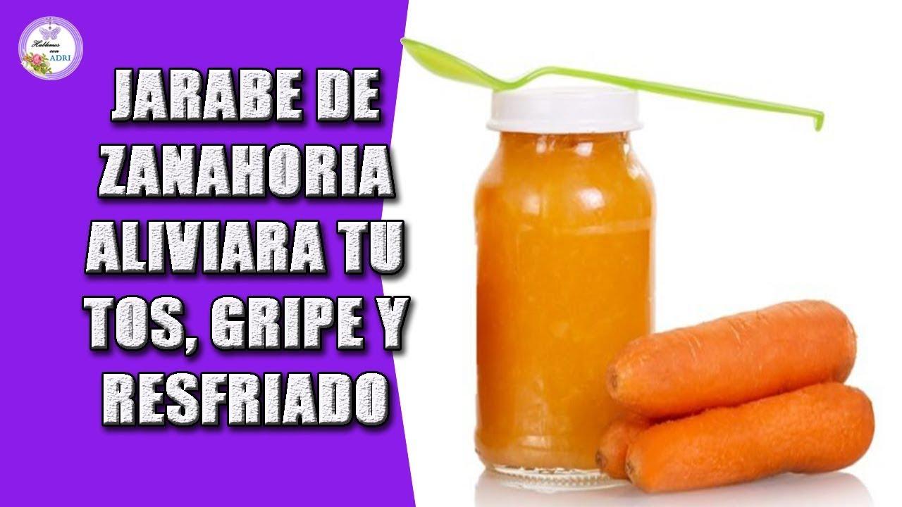 Zanahoria de como y miel jarabe preparar