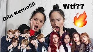 NON KPOP REACT TO KPOP PART 3 (BTS, BLACK PINK)