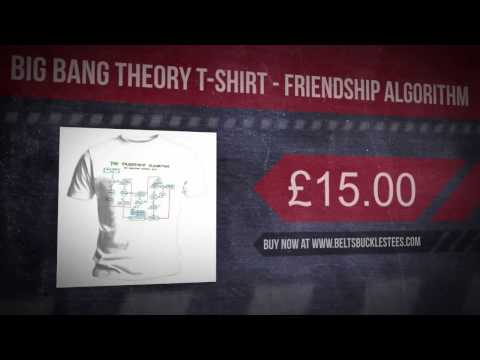 Big Bang Theory T-Shirt - Friendship Algorithm
