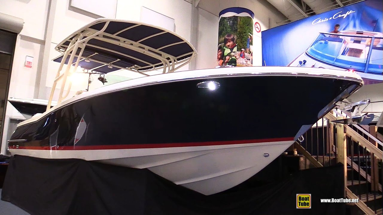 2017 Chris Craft Catalina 26 Motor Boat - Walkaround - 2017 Toronto Boat  Show