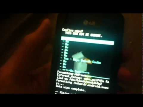 How to get android 4.0.4 (ics) on a lg Optimus one