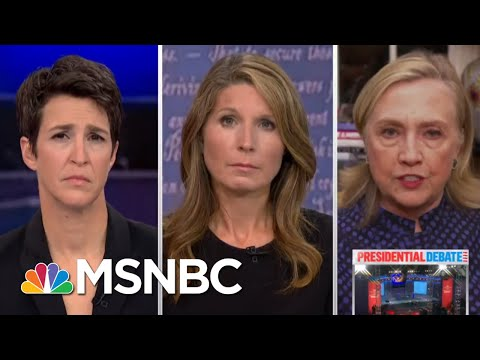 'Trump Is A Clear And Present Danger' To U.S. National Security: Clinton | Rachel Maddow | MSNBC