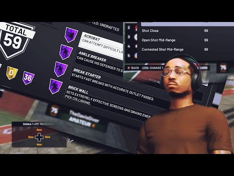 QUAVO - 99 Overall DEMIGOD 59 HALL OF FAME Badges & 99+ Stats NBA 2K19