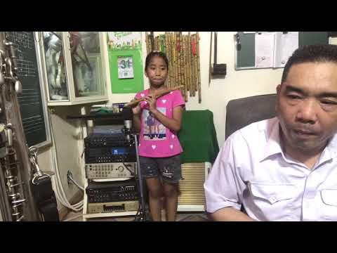 Trần Hồng Nhung - Trả bài Sáo Trúc - Âm Nhạc Thái Hòa - Giáo xứ Đa Phạn - GP. Thanh Hóa