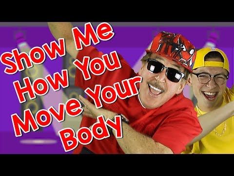 Show Me How You Move Your Body | Brain Breaks | Movement Songs for Kids | Jack Hartmann