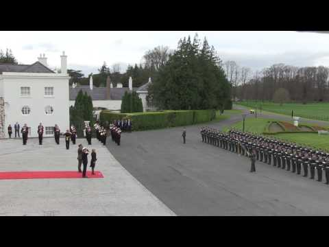 President of Croatia ceremonial welcome, State Visit, April 2017