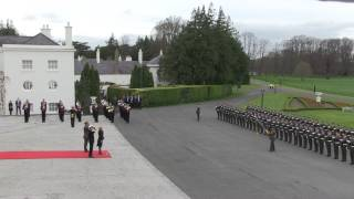 Ceremonial welcome for the President of Croatia, State Visit, April 2017