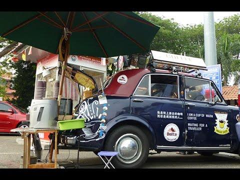 Rocky's Mobile Cafe In Melaka