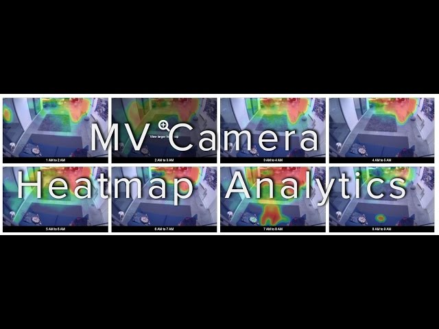 A brief introduction to MV camera heatmap analytics